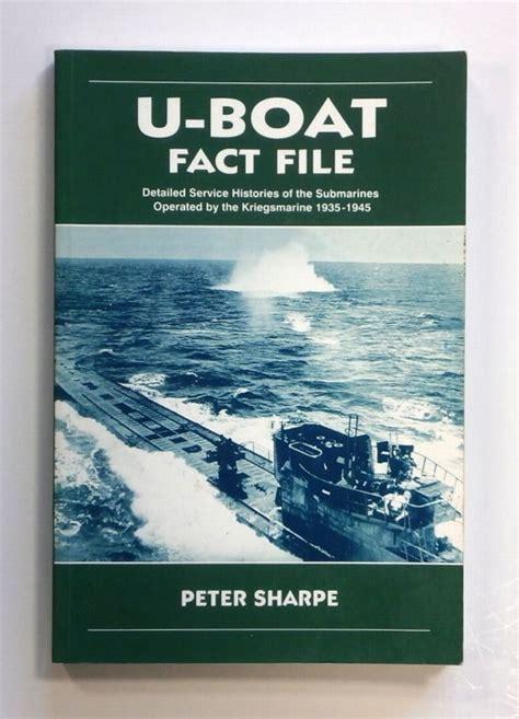 u boat facts cheap books zb1476 u boat fact file peter sharpe books