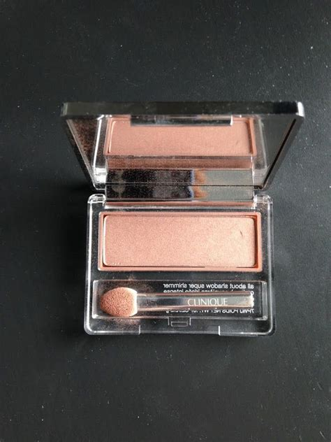 Eyeshadow Clinique clinique all about shadow single sunset glow reviews