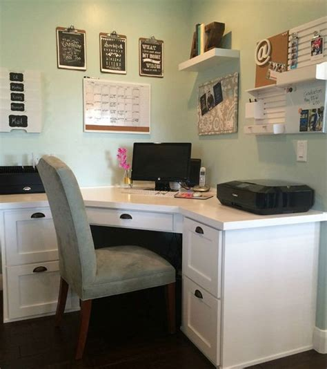 desk built into closet create a workstation anywhere in your small home office
