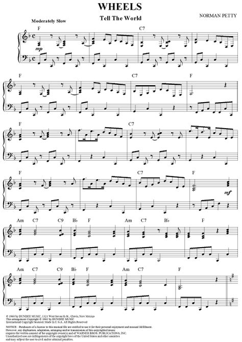 """Buy """"Wheels (Tell the World)"""" Sheet Music by String-A"""