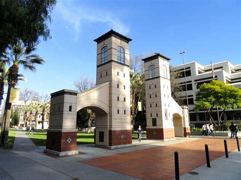 California State San Jose Mba by File Boccardo Gate San Jos 233 State Dsc03952