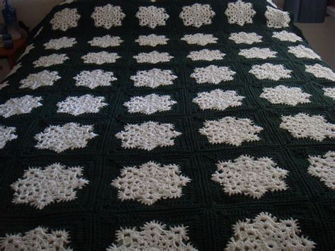 pattern for snowflake granny square snowflake granny square afghan pattern by joanne kundra
