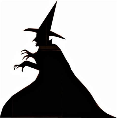 witch silhouette template serendipity refined pottery barn inspired
