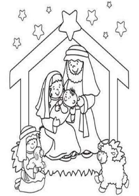 imagenes del nacimiento de jesus para niños para colorear belenes para colorear dibujos para colorear