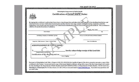 Uncategorized Archives Bay Hill Environmental Llc Lead Safety Program Template