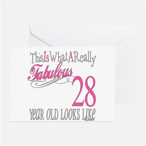 28th Birthday Quotes Cute 28th Birthday Cute 28th Birthday Greeting Cards