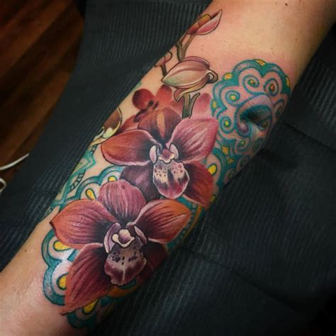 tattoo flower forearm beautiful flowers tattoos on forearm by melissa fusco