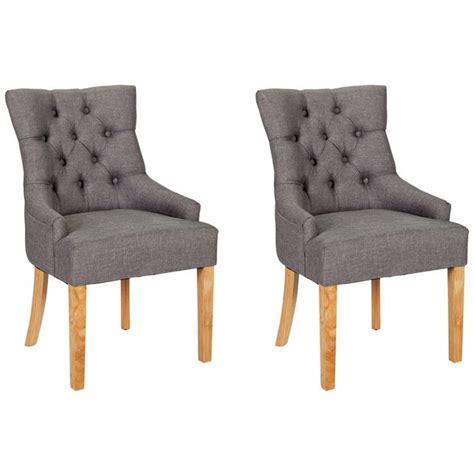 argos armchair buy heart of house pair of charcoal cherwell dining chairs