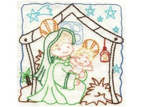 embroidery design nativity scene machine embroidery designs nativity color work set