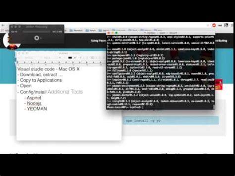 tutorial visual studio code mac full download visual studio code setup create project
