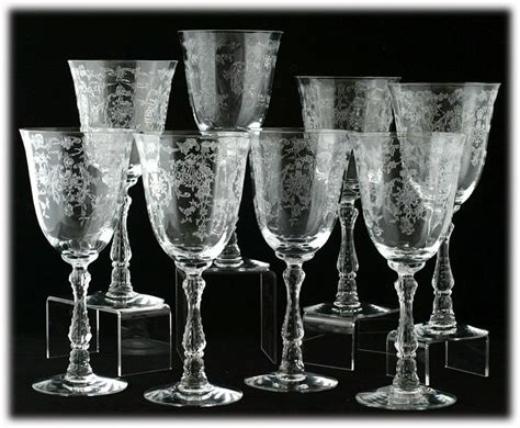 elegant barware 17 best images about fostoria glassware on pinterest