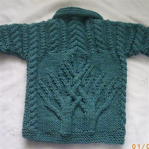 aran knitting patterns macdara aran coat for baby or toddler pattern by