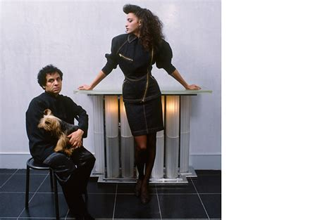 Azzedine Alaia The Best Of The 80s The Best Leather Trench Anywhere Without Question Fashiontribes Fashion by Wintour Doesn T Deal With Pictures She Is Ju By