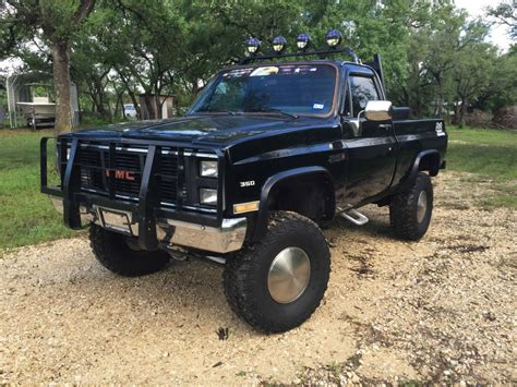 lifted gmc 1985 gmc k1500 lifted up for sale