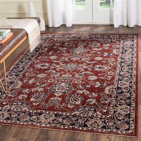 artisan area rugs safavieh artisan rust navy 4 ft x 6 ft area rug atn324r