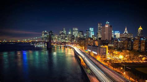 Manhattan Night In New York City 4k Wallpapers | manhattan night in new york city 4k wallpapers