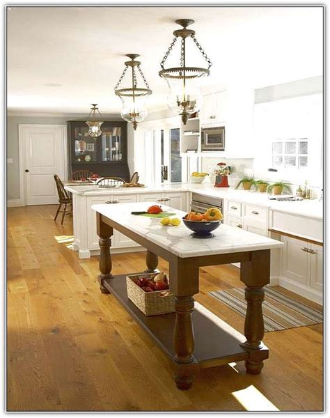 narrow kitchen island best 25 narrow kitchen island ideas on small