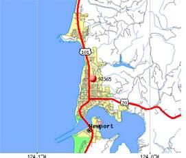 map of newport oregon newport oregon map oregon map