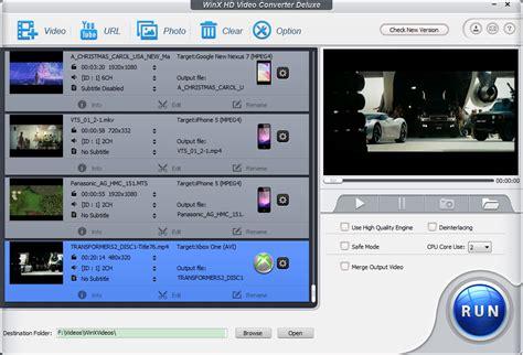 Video Format Converter Hd | gone free winx hd video converter deluxe convert