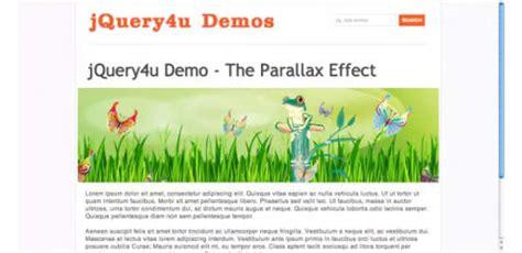 parallax website tutorial video 18 parallax scrolling tutorials ginva