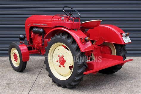 porsche tractors sold porsche junior diesel tractor auctions lot 23