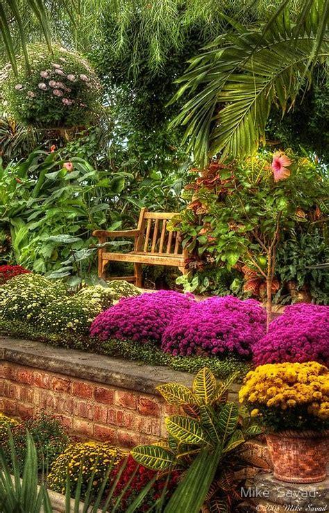 Secret Flower Garden A Seat Print Gardens My And Perennials