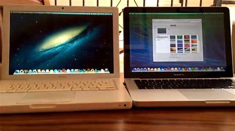 Macbook Pro Os X comparaci 243 n macbook 2016 macbook white 2007 vs macbook pro 2008 os x 10 8 5 vs os x 10 9 5
