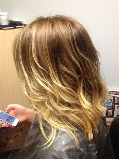 ombre balayage color melt blonde highlights long bob 17 best images about ombre and colormelt hair on