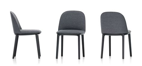 Material For Dining Room Chairs vitra softshell side chair