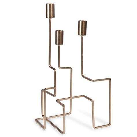 Kerzenhalter Metall by Kerzenhalter Aus Metall Goldfarben H 35 Cm Gold Palermo