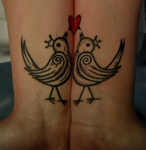 matching bird tattoos tattoos