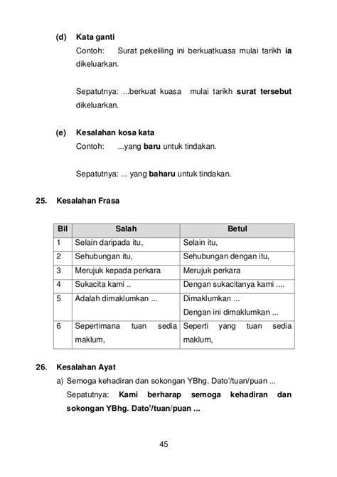 format penulisan lop surat contoh ayat majmuk tahun 4 contoh 36