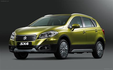 Sx4 Suzuki by Suzuki Sx4 Crossover 2014 Widescreen Car Wallpaper