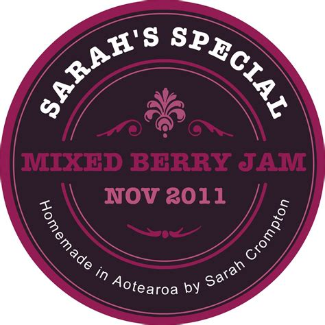 Etiketten Jamlabelizer by The Jam Labelizer Create Custom Labels For Your Preserves