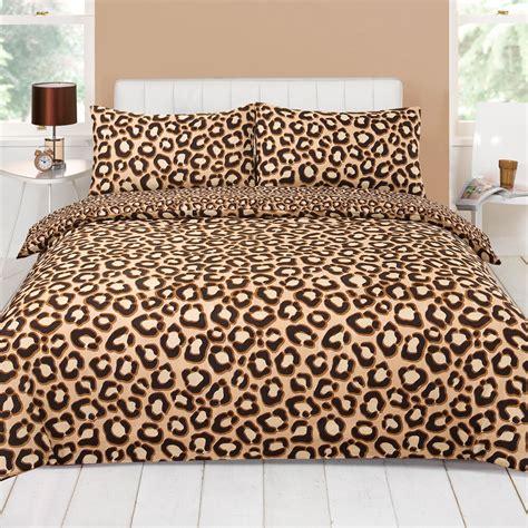 Leopard Print Comforters by Leopard Chocolate Brown Beige Animal Print Duvet Quilt