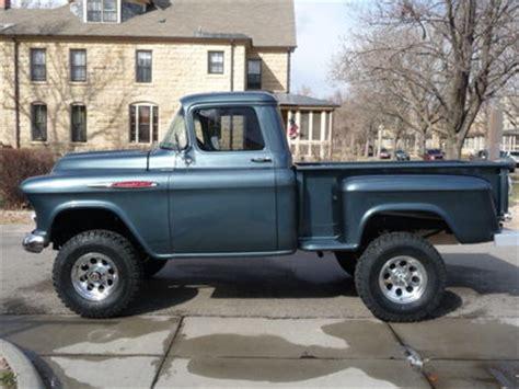 1957 chevy 3200 1/2 ton 4x4 chevrolet chevy trucks for