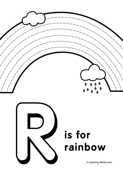 Alphabet R Coloring Pages by Letter R Coloring Pages Alphabet Coloring Pages R Letter