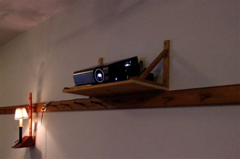 projector wall shelves home theatre projector mounted