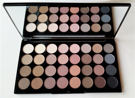 Eyeshadow Review makeup revolution flawless matte ultra eyeshadow palette review and swatches the budget