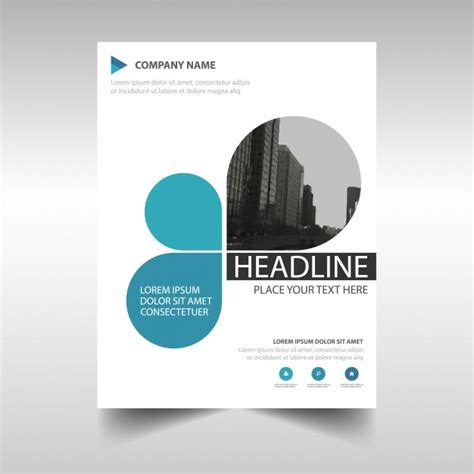 report covers templates blue creative annual report book cover template vector
