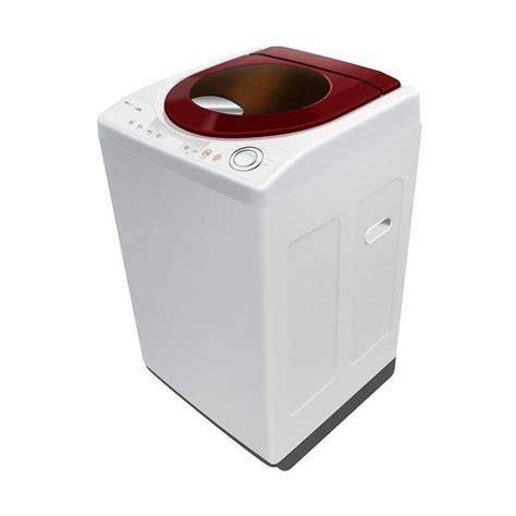 Mesin Cuci Ukuran 8 Kg jual polytron paw 8511wm mesin cuci top loading maroon 8 5 kg khusus jabodetabek