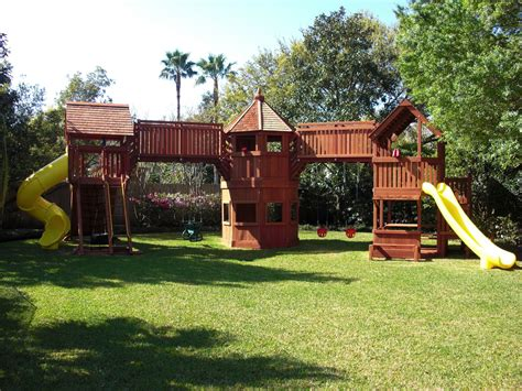 custom swing set and playset designs from s backyard