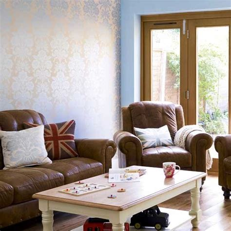 blue living room with brown furniture blue living room brown furniture modern house