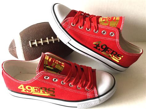athletic shoes san francisco san francisco 49ers gold s athletic shoes by