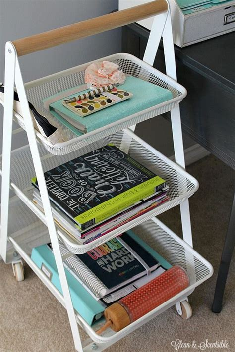 How To Keep Your Desk Organized Small Desks Offices And I On Pinterest