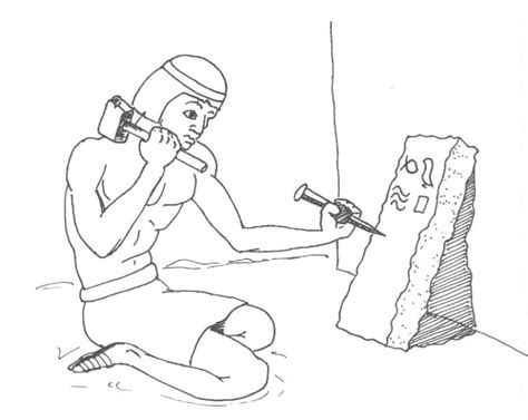 coloring pages for egyptian hieroglyphs stone tablet coloring pages coloring pages