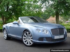 Used Bentley Convertible Used 2012 Bentley Continental Gt Convertible 20 Gtc For
