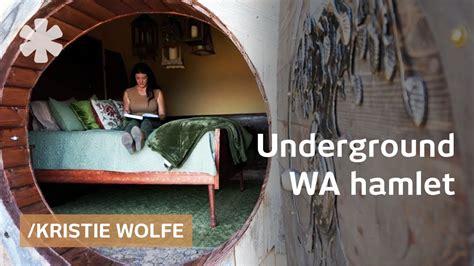 kristie wolfe builds underground home sets rural wa