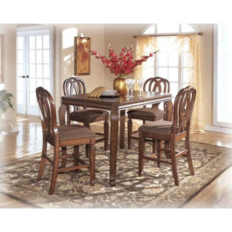 hamlyn dining room set buy hamlyn marble top dining room set by steve silver from