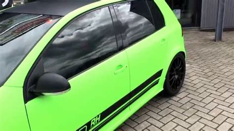 jcc golf layout full carwrap golf 5 gti 460hp tuning green youtube